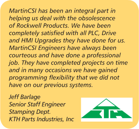 Rockwell/Allen Bradley Upgrades